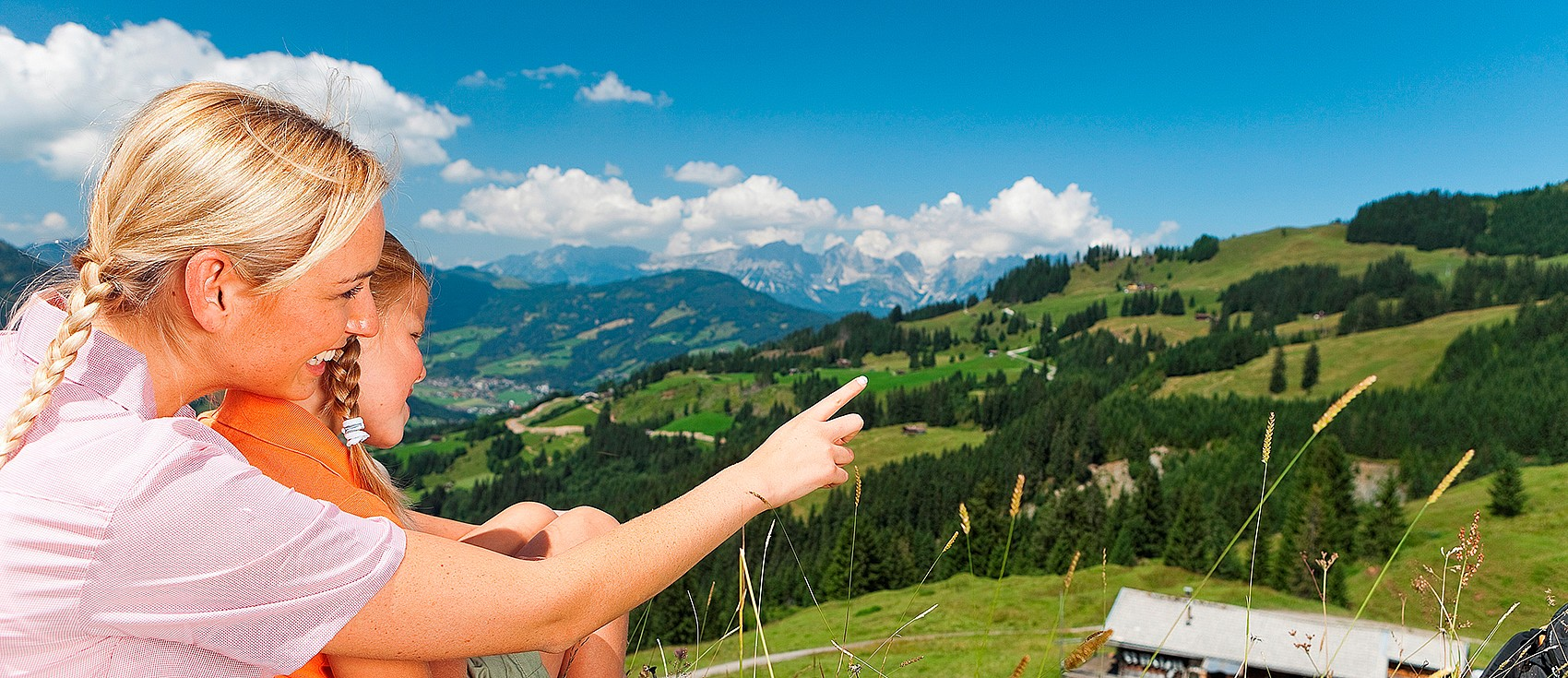 Family holidays in the nature hotel Kitzspitz