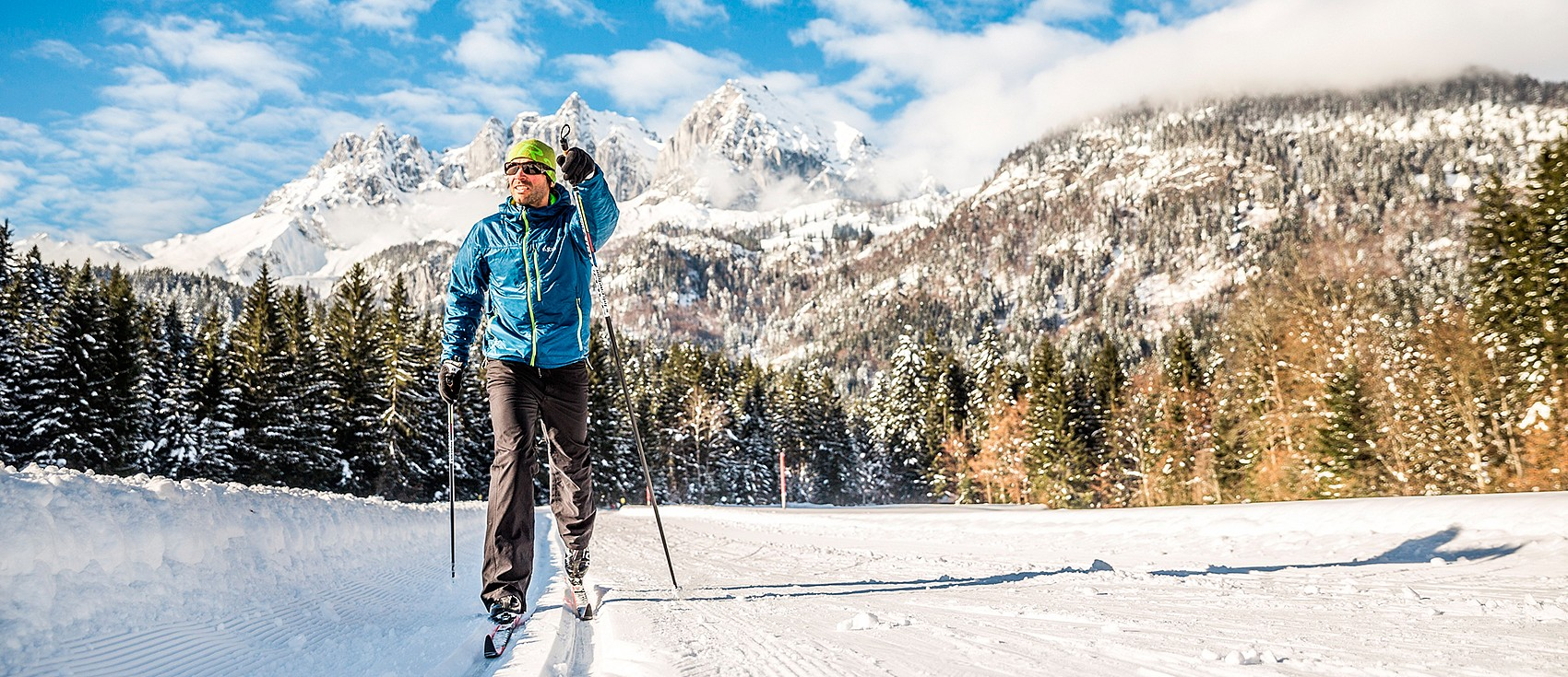 Cross-country skiing holidays in the hotel Kitzspitz